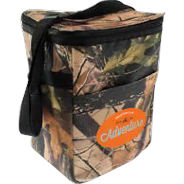 Imprinted 12 Pack Camo Cooler Bag