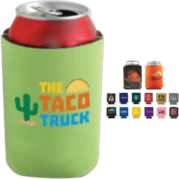 Personalized Collapsible Foam Kan Cooler