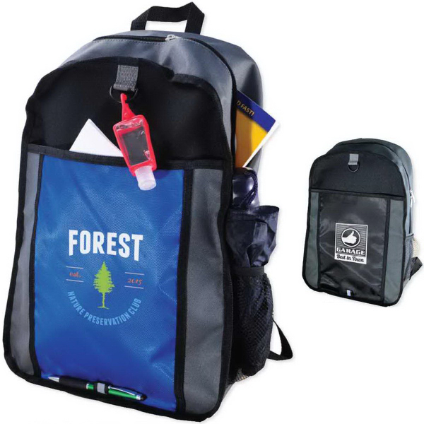 Personalized Color Block Back Pack