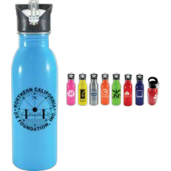 Imprinted 21 oz Sprint Sport Bottle