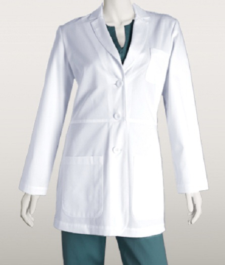 "Personalized Barco Women's 30"" 3 Pocket Lab Coat"