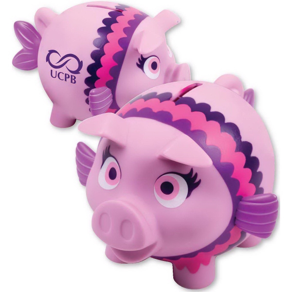Promotional Pretty Piggy Bank