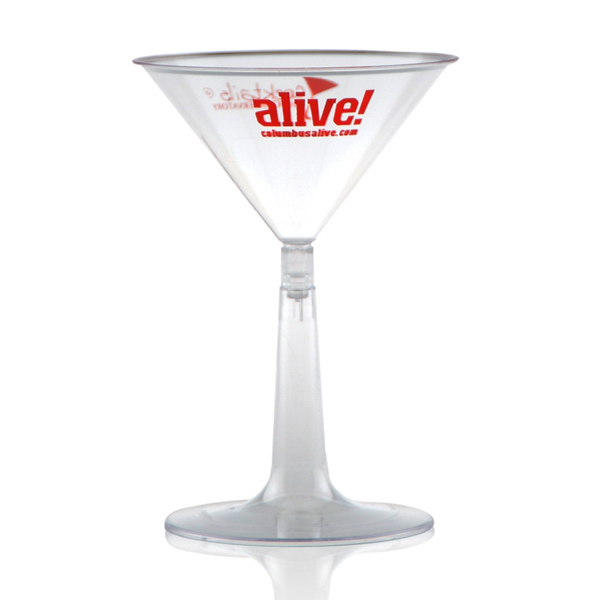 Printed Martini Glass