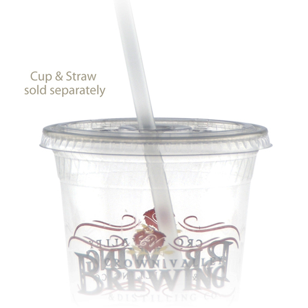 Promotional 16 oz Straw Slot Eco-Cold Cup Lid