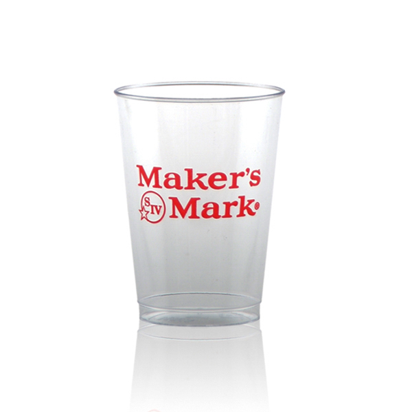 Imprinted Offset Clear Plastic Cup 7oz