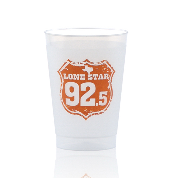 Printed Offset Frost-Flex Cup 8oz