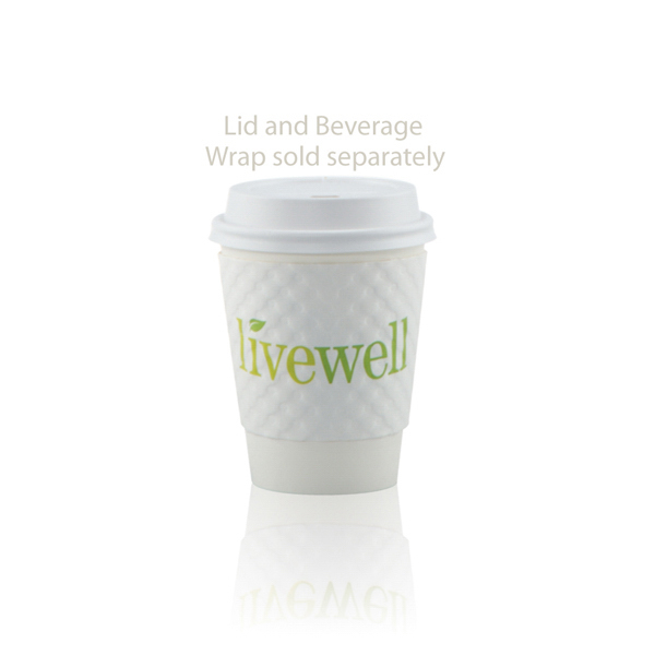 Printed Offset Paper Cup 8oz