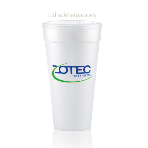 Promotional Offset Foam Cup 24oz