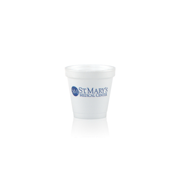 Custom Offset Foam Cup 4oz