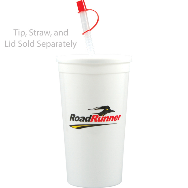 Custom Offset Stadium Cup 32oz