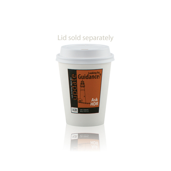 Printed White Paper Cup 8oz