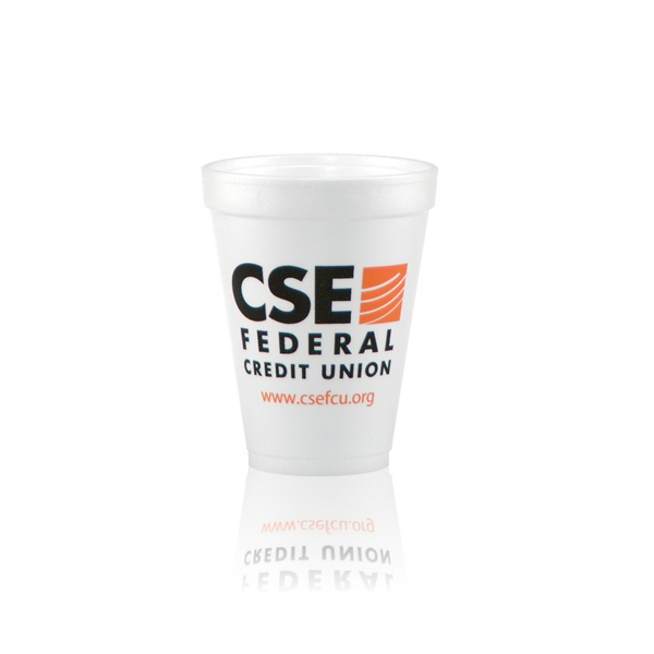 Personalized Foam Cups 12oz