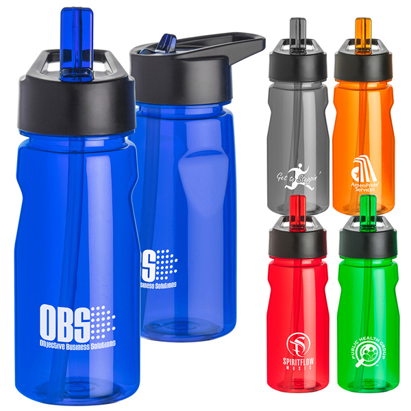 Personalized Tritan (TM) Notched Water Bottle With Loop