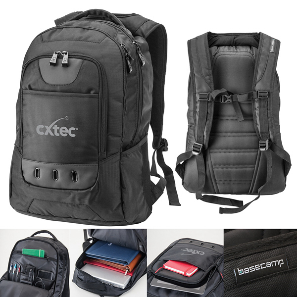 Imprinted Navigator Laptop Backpack