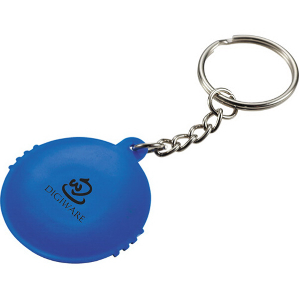 Imprinted UV Keychain