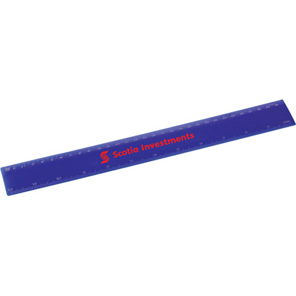 Customized 12-Inch Solid Ruler