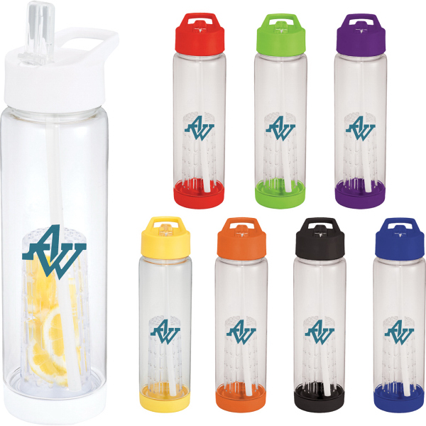 Printed Tutti Frutti 25-oz Tritan Sport Bottle