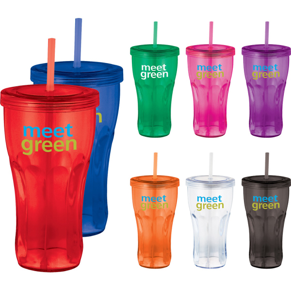 Printed Fountain Soda 24-oz Tumbler