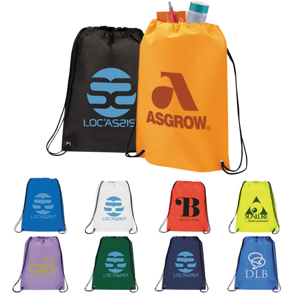 Personalized The Champion Drawstring Cinch Backpack