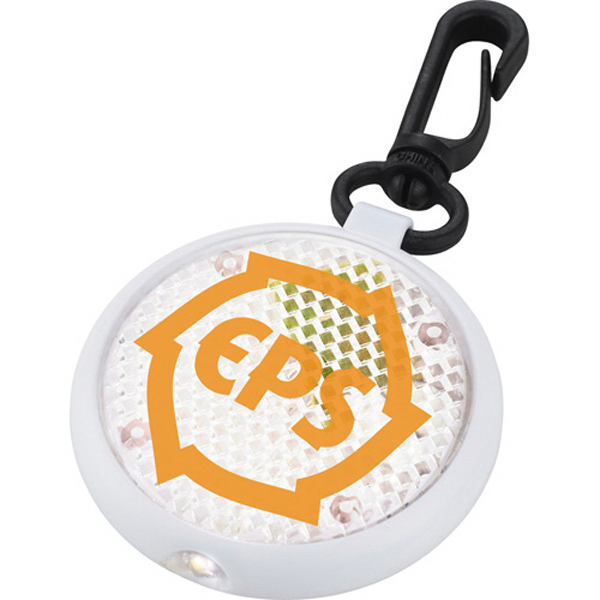 Printed Round Reflector Light