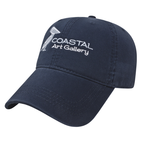 Customized Relaxed Golf Cap with Velcro