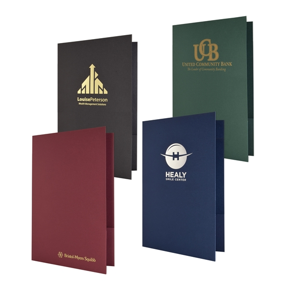 Personalized Legal Linen Presentation Folder