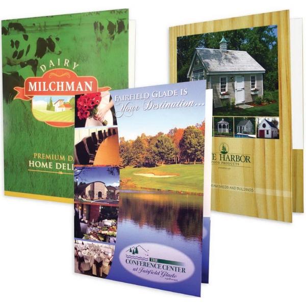 Personalized 4 Color Process Presentation Folder