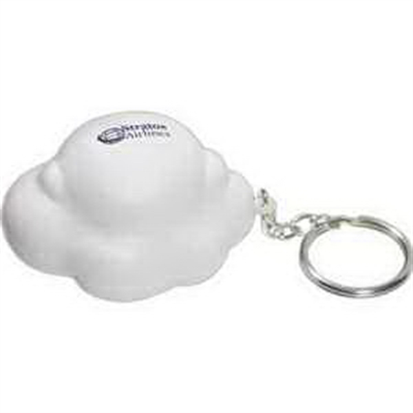 Personalized Cloud Key Chain