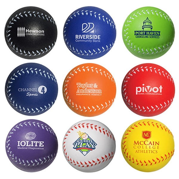 Personalized Baseball Stress Reliever