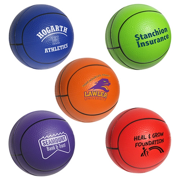 Promotional Basketball Stress Reliever