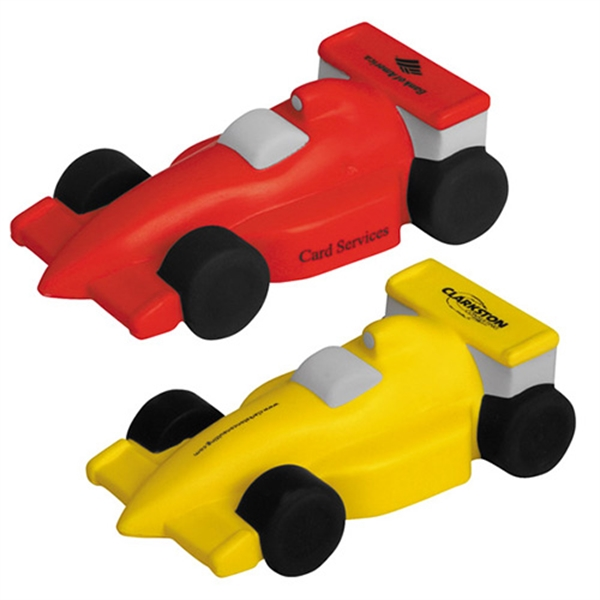 Printed Race Car Stress Reliever