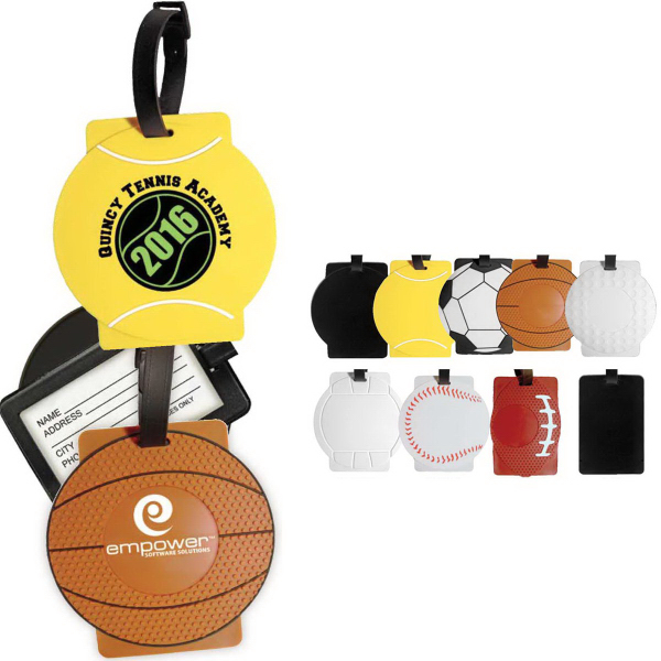 Custom Sport Luggage Tag