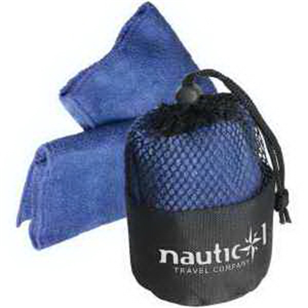 Imprinted Quick Dry Towel and Pouch