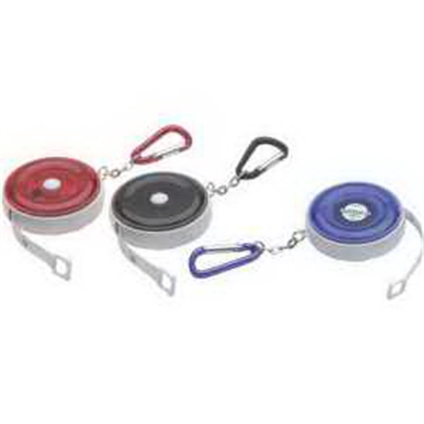 Customized Carabiner Round Tape Measure