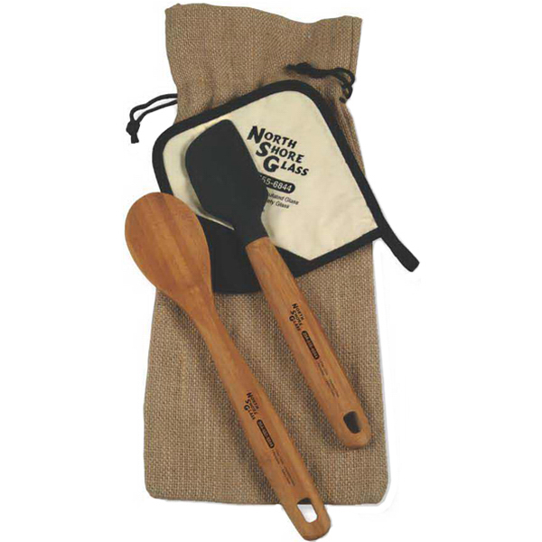 Custom Bamboo Gift Set