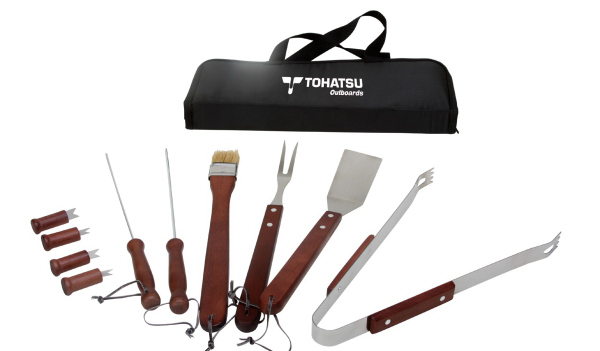 Custom 11 Piece BBQ Tool Set