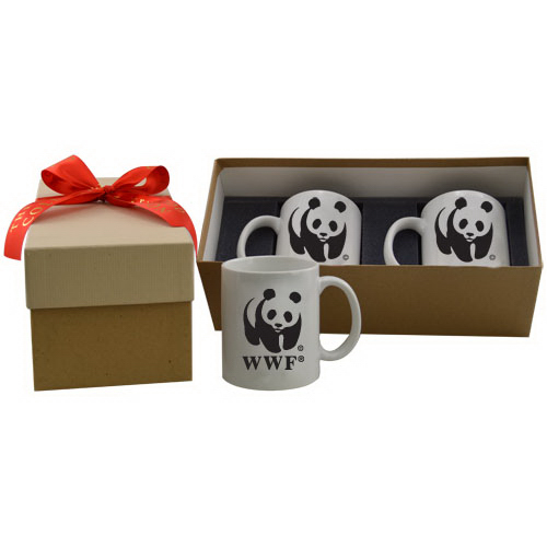 Customized Two mug gift box