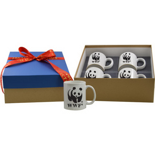 Promotional Four mug gift box