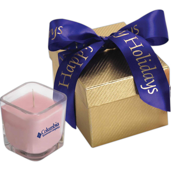 Promotional Capricorn Gift Box w/ Candle