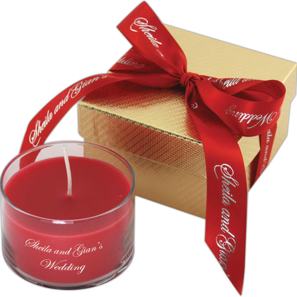 Promotional Mars Gift Box w/ Candle