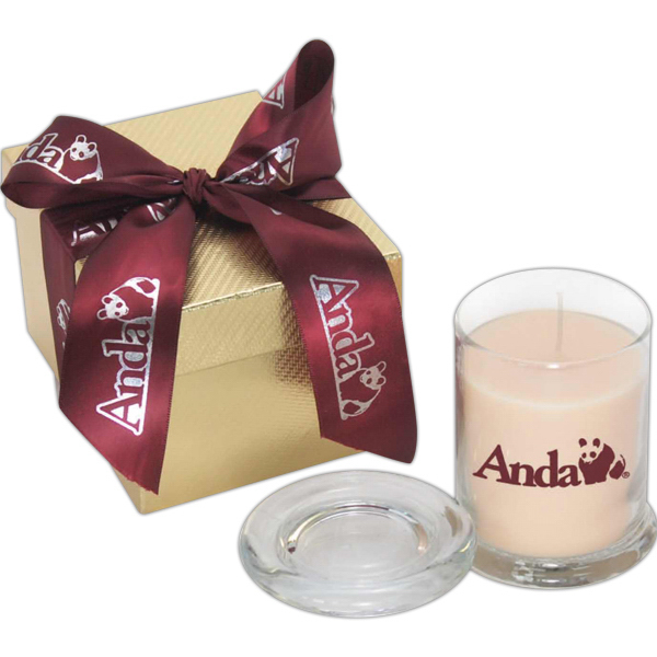 Personalized Themis Gift Box w/ Candle