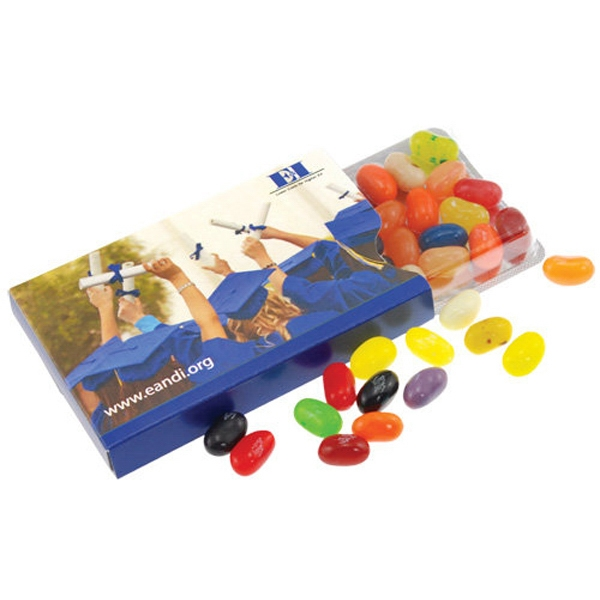 Imprinted Jelly Bellies in a Blister Pack with Sleeve