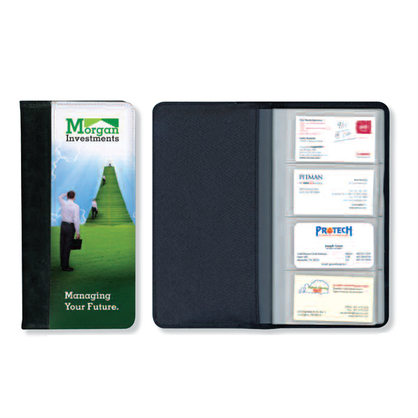 Imprinted Full color business card album