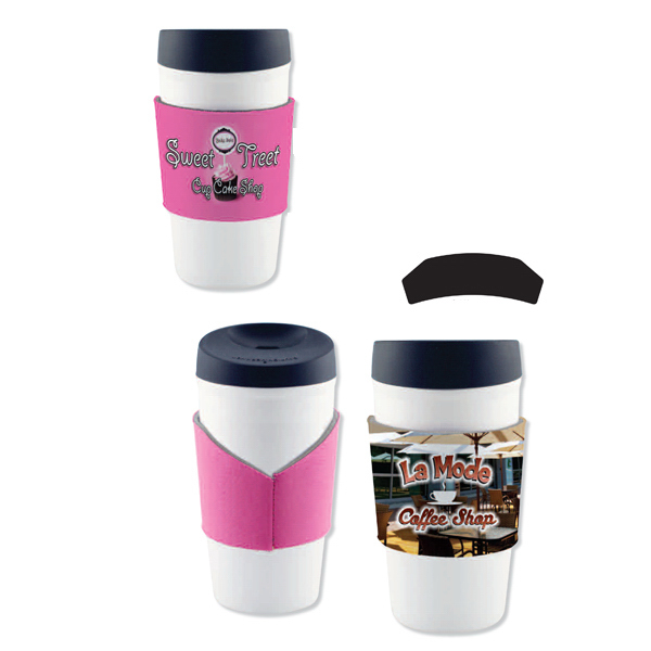 Custom Full Color Neoprene Coffee Sleeve