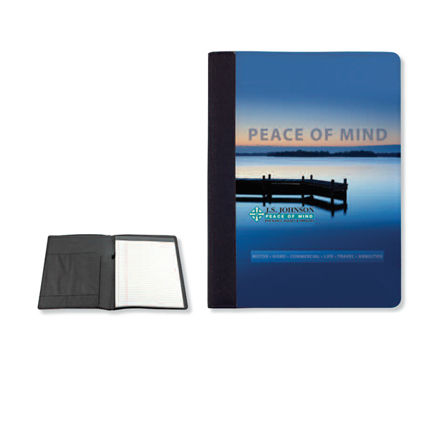 Personalized Full color large note pad folio