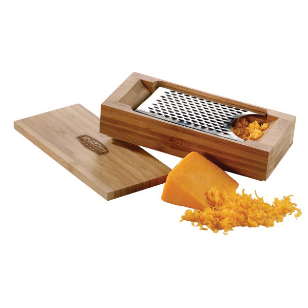 Printed Chefz Bamboo Cheese grater