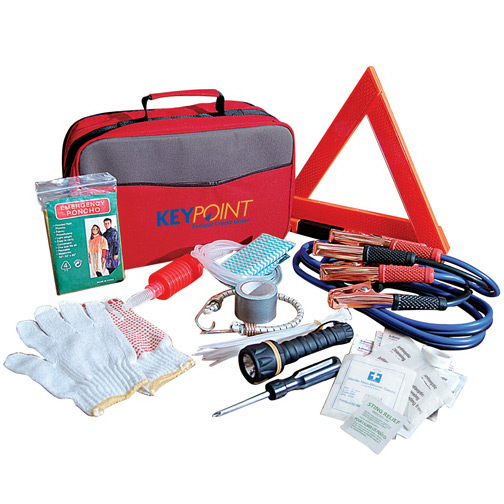 Printed BeSafe roadside emergency kit
