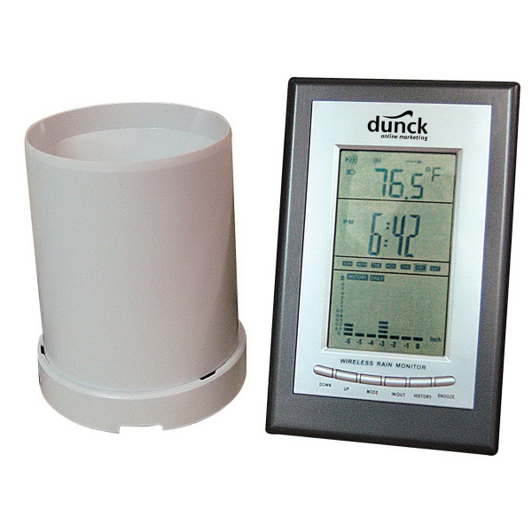 Customized Sonic Rain Gauge and Weather Station