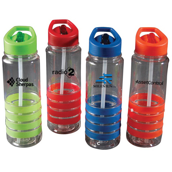 Printed Quadra Tritan water bottle