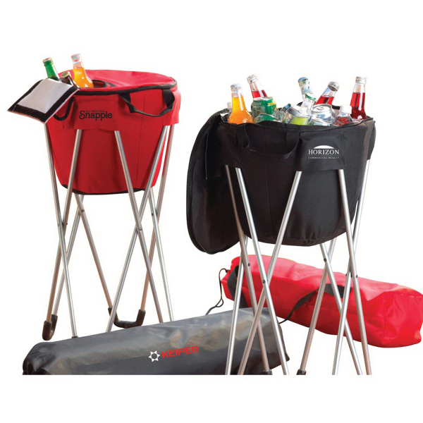 Promotional Quench Cooler Bag and Stand
